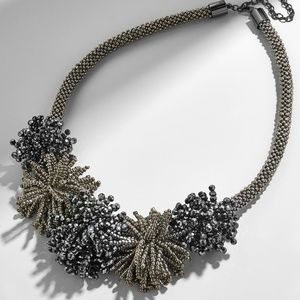 Baublebar Riviera Statement Necklace Grey